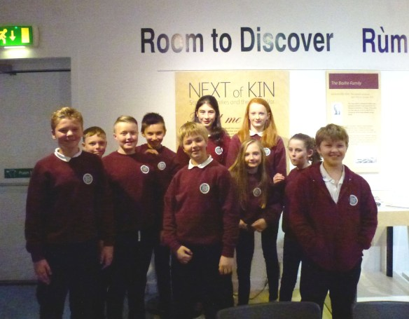 S1 Trip to Inverness Museum