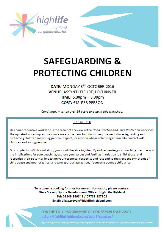 Safeguarding and Protecting Children Lochinver