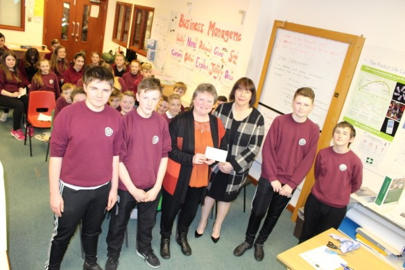 Highland Befrienders Cheque Handover