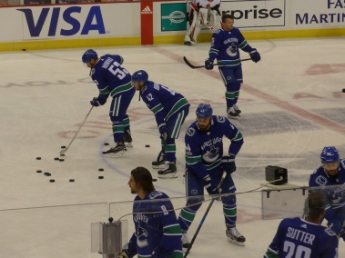 001 Warm Up Vancouver Canucks