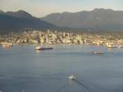 North Vancouver and North Shore Mountains