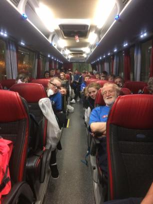 On the Coach to Glasgow