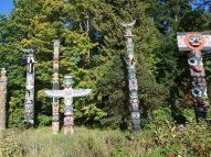 017 Stanley Park Totem Poles