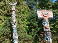 020 Stanley Park Totem Poles