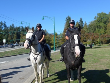21 Stanley Park Mounted Police